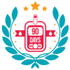 Badge for measuring blood glucose 90 times